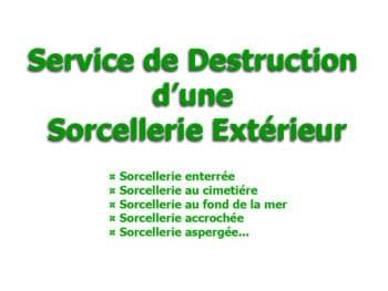 roqya destruction sorcellerie