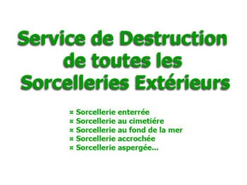 destruction sorcelleries